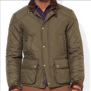 Polo Ralph Lauren Green Quilted Jacket